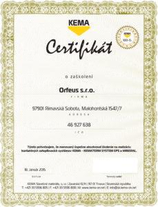 CertifikatSVK_2014_Kematerm.indd